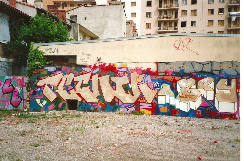 Archives Tober 10 - TECNIK a L'ABRYKO by 2 PON & DECLIC 1989 terrain vague ARNO BEN